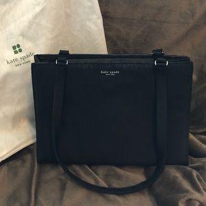 Kate Spade Vintage Black Silk Handbag